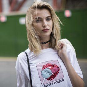 T-shirt a maniche corte donna