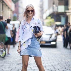 Gonne di jeans donna