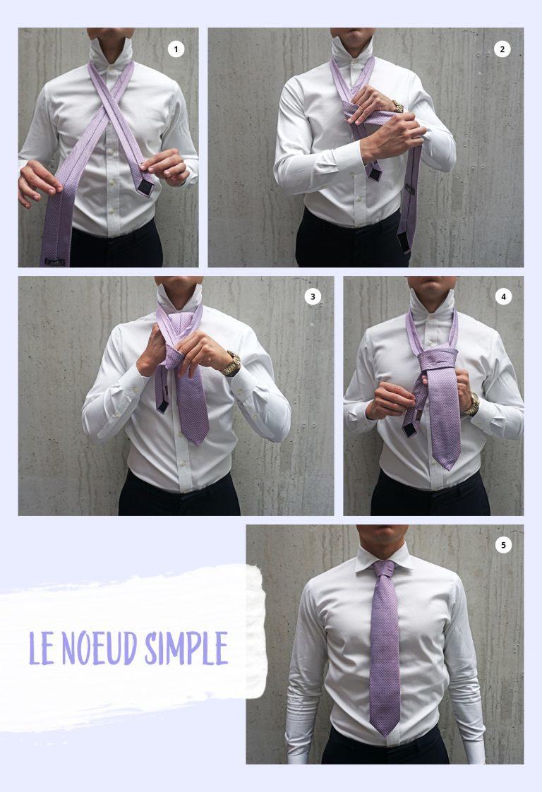 Comment faire un noeud de cravate
