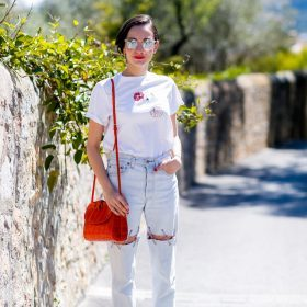 Get the look: un tocco rosso!
