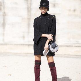 Il trend del mese: gli stivali sopra il ginocchio
