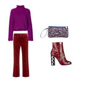 Come abbinare i colori più trendy della moda autunno inverno