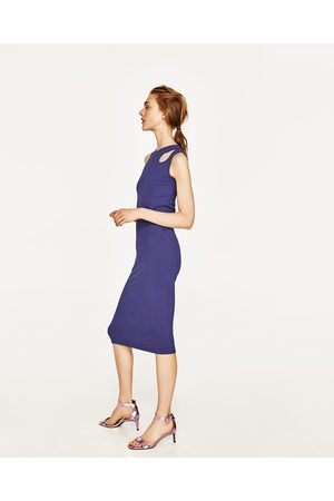 Donna Vestiti Lunghi - Zara VESTITO LUNGO RIB - Disponibile in altri colori