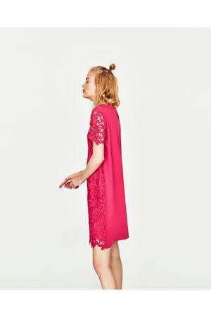 Donna Vestiti - Zara ABITO CORTO PIZZO - Disponibile in altri colori