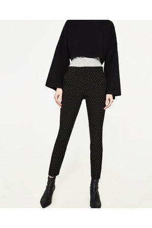 Donna Slim & Skinny - Zara PANTALONI A SIGARETTA ELASTICO IN VITA - Disponibile in altri colori
