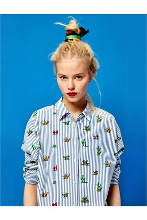 new product 49c34 34b6a CAMICIA STAMPA CACTUS