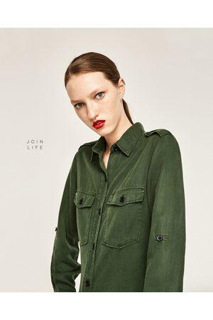 Abbigliamento Donne Online Acqusita E Compara Militare I Prezzi Zara H5acq1PW