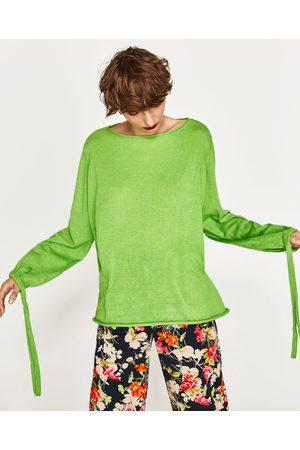 Zara PULLOVER MANICHE A PALLONCINO - Disponibile in altri colori