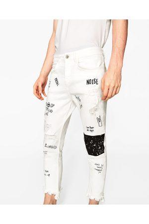 Prezzi Jeans Acqusita E I Compara Uomini Online Bianca Zara qZUX1wc