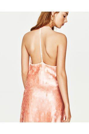 Donna Vestiti - Zara MATTE SEQUINNED DRESS