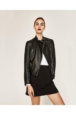 Giacche di pelle Zara Donna : articoli di tendenza