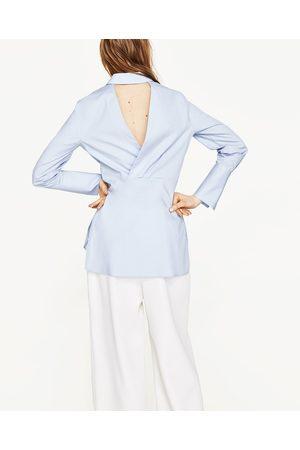 Donna Camicie - Zara CAMICIA POPELINE SPACCO