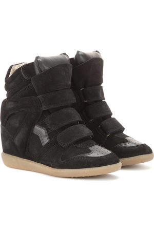 Isabel Marant Donna Trainers - Sneakers Bekett in suede con zeppa