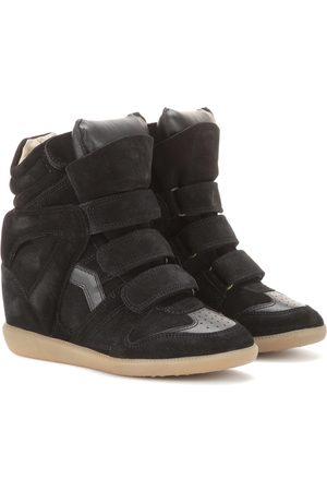 Isabel Marant Sneakers Bekett in suede con zeppa