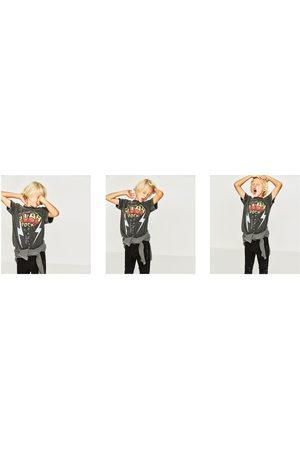 "Zara T-SHIRT ""ROCK STAR"""