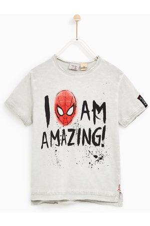 "Zara T-SHIRT SPIDERMAN ""I AM AMAZING"""