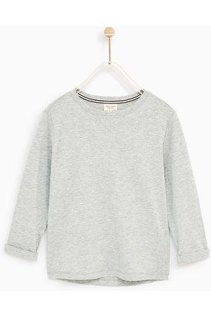 Zara T-SHIRT MANICHE LUNGHE TINTA UNITA - Disponibile in altri colori