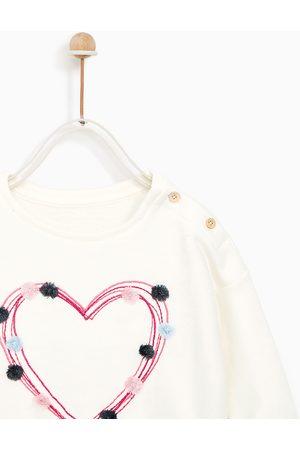 Zara FELPA APPLICAZIONI E RICAMO - Disponibile in altri colori