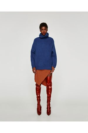Zara MAGLIA OVERSIZE COLLO ALTO - Disponibile in altri colori