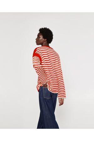 Zara FELPA CON RIGHE A CONTRASTO - Disponibile in altri colori