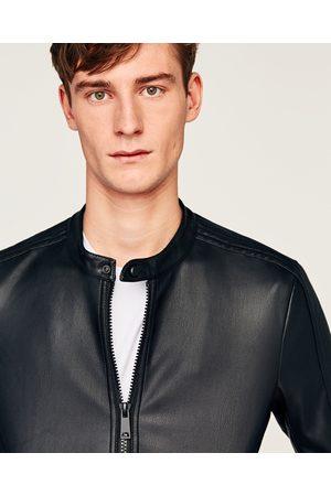 Zara Uomo Giacche di pelle Online  eed993516c1