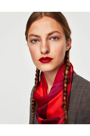 Zara FOULARD STAMPA GEOMETRICA