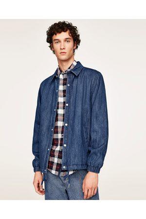 Uomo Giacche di jeans - Zara GIUBBOTTO DENIM