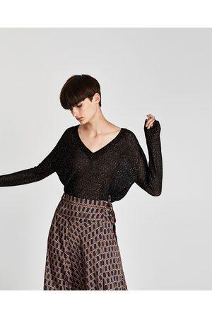 Zara PULLOVER PAILLETTES - Disponibile in altri colori