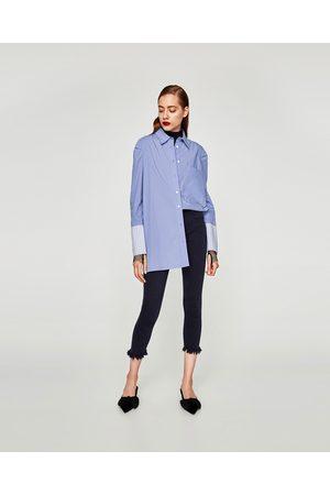 Zara JEANS PUSH UP CROPPED EMBRACE - Disponibile in altri colori