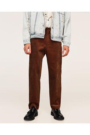 Uomo Pantaloni - Gebeana PANTALONI VELLUTO A COSTINE - Disponibile in altri colori