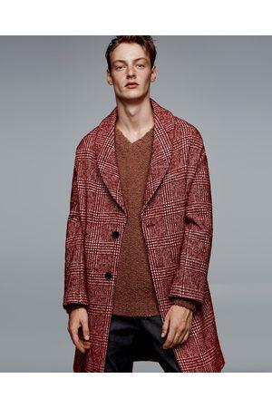 Cappotto rosso uomo zara