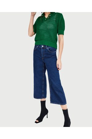 Zara JEANS CULOTTE VITA MEDIA - Disponibile in altri colori