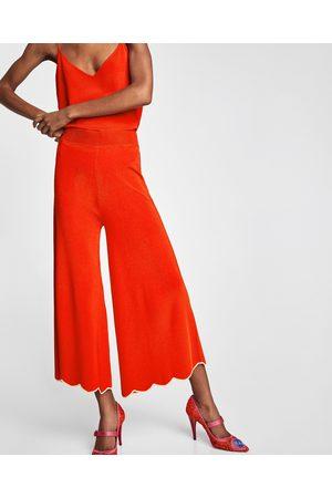 Zara PANTALONI CULOTTE ONDE - Disponibile in altri colori