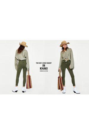 Zara Donna Jeans a vita alta - JEANS '80S HIGH WAIST COLOR