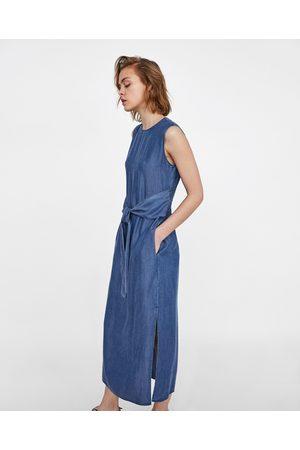 Zara Maxi abito Abbigliamento Donne 8a11c954ee8