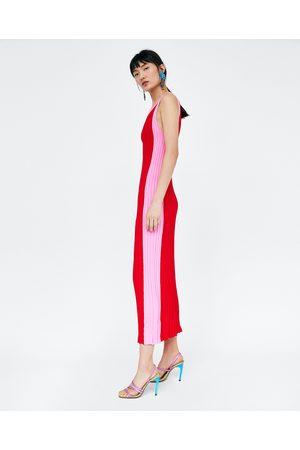 Zara VESTITO LUNGO BICOLORE - Disponibile in altri colori