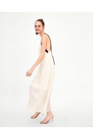 Zara Outlet Vestiti lunghi Donne e959b8c500f