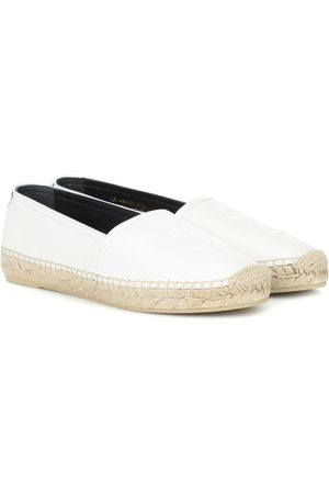Saint Laurent Donna Espadrillas - Espadrillas Monogram in pelle