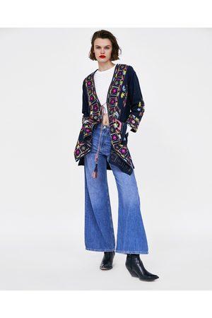 Zara Donna Kimono - KIMONO RICAMATO