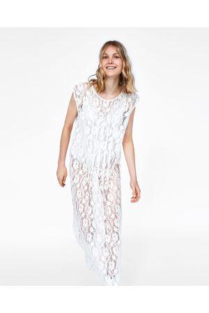 Zara Abiti bianchi lunghi Vestiti da sera Donne 47ff7b93602