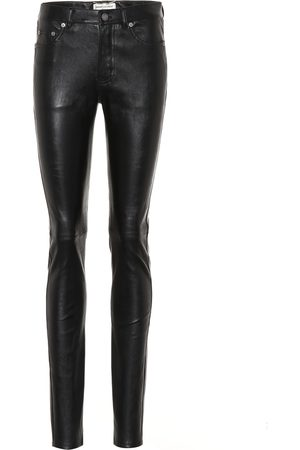 Saint Laurent Leggings in pelle