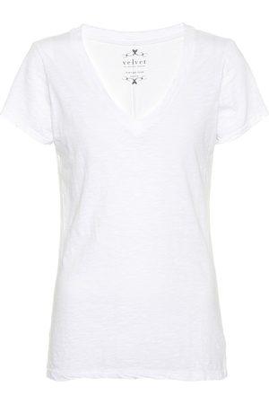 Velvet Donna Maniche corte - T-shirt Lilith in cotone