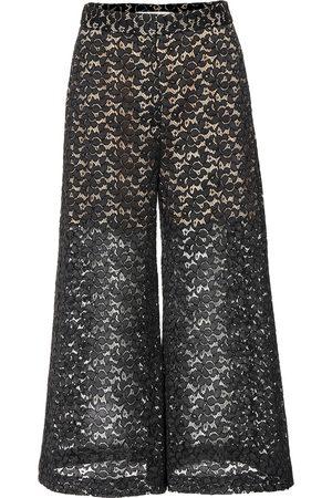 Stella McCartney Pantaloni culottes in pizzo