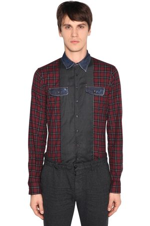 Dsquared2 CAMICIA IN COTONE PATCHWORK