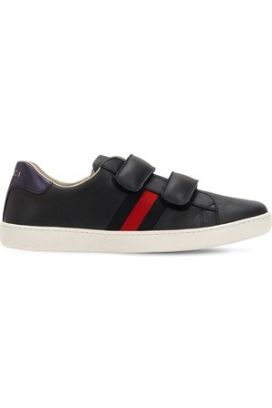 "Gucci Sneakers ""new Ace"" In Pelle"