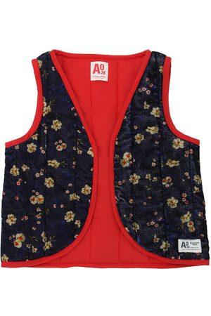 American Outfitters Kimono Senza Maniche Imbottito In Velluto