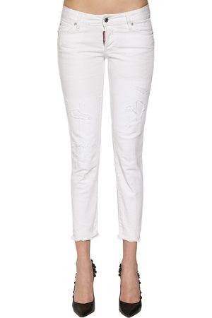 "Dsquared2 Jeans ""jennifer"" In Denim Di Cotone"