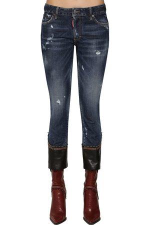 Dsquared2 Jeans Skinny In E Pelle