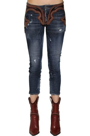 "Dsquared2 Jeans ""cool Girl"" In E Pelle"