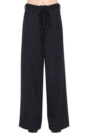 MM6 MAISON MARGIELA Pantaloni Oversize In Misto Lana